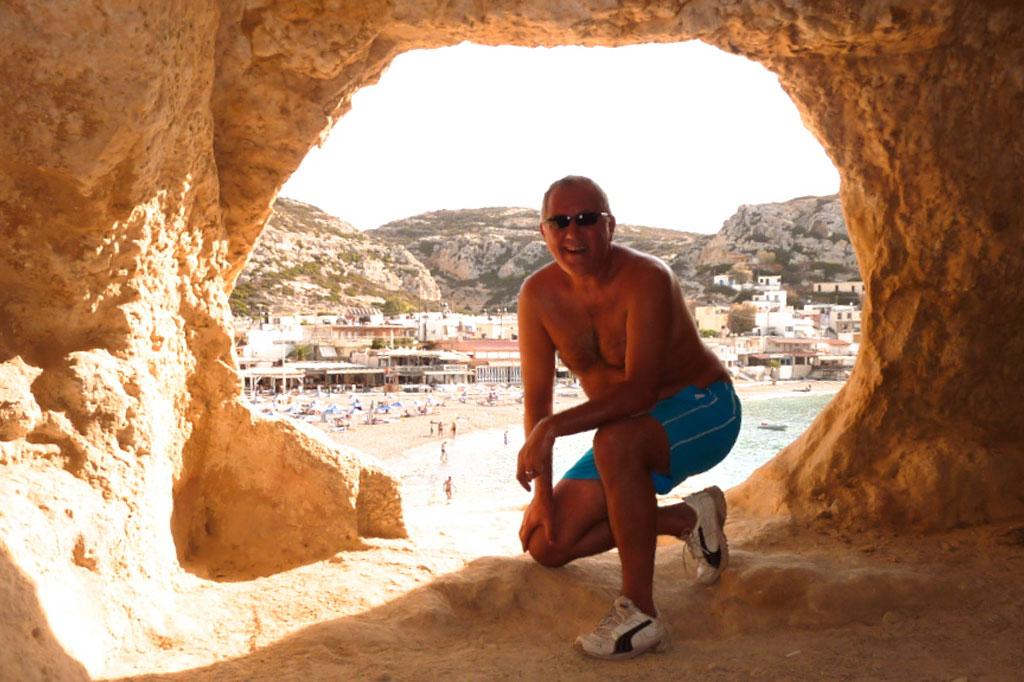 Stefano a Matala, Creta